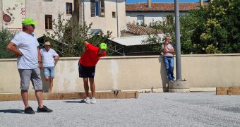 Challenge de Pétanque «Dragui'Boules » organisé par la TRF269 Golfe de Saint-Tropez/Dracénie